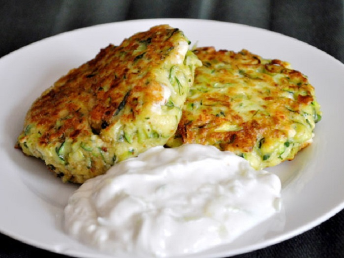Image Source http://www.seriouseats.com/recipes/2011/04/kolokithokeftedes-greek-zucchini-fritters-with-tzatziki-recipe.html