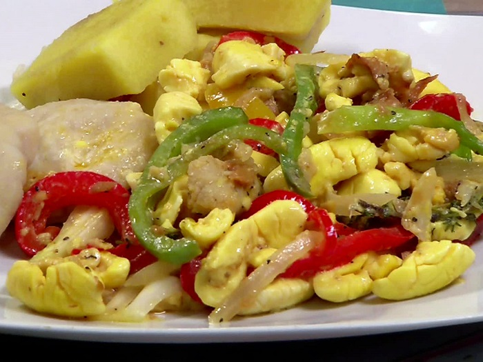 Photo Credit http://www.foodnetwork.com/recipes/ackee-and-saltfish-recipe.html