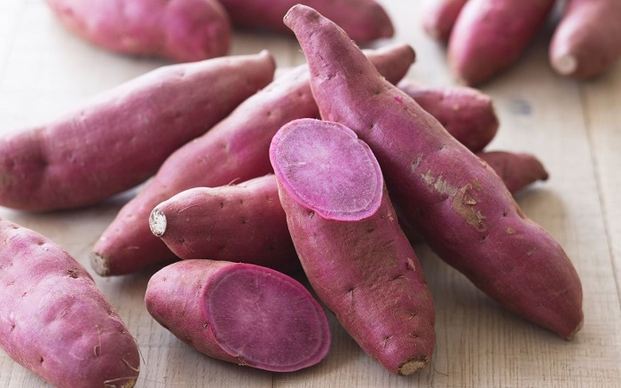 Photo Credit http://communitytable.parade.com/20179/linzlowe/what-the-heck-is-a-purple-sweet-potato-and-how-do-you-cook-it/