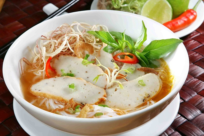 Photo Credit  http://danangfoodie.com/fish-cake-noodle-soup-bun-cha-ca/