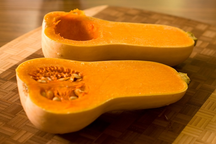 Photo Credit  http://mazwo.com/stuffed-butternut-squash-2/