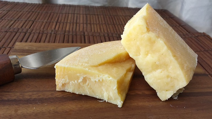 Photo Credit http://indieplate.com/raw-milk-asiago-cheese-8-oz