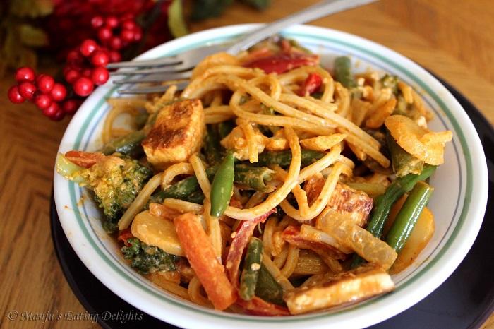 Photo Credit http://manjuseatingdelights.blogspot.in/2012/01/spaghetti-rigati-with-mixed-veggies.html#axzz3j9WIf0c3