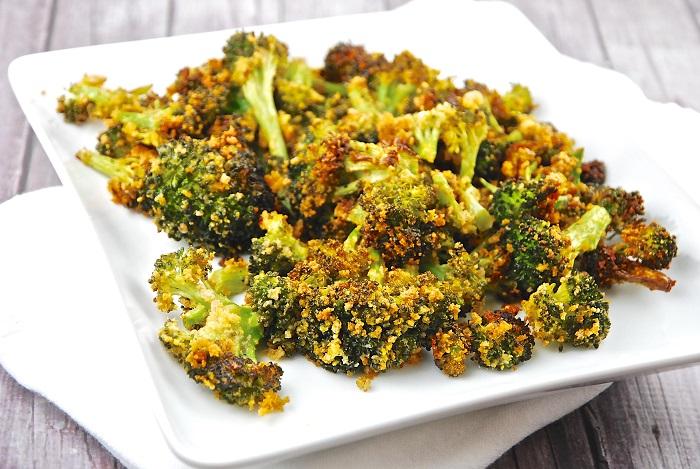Photo Credit http://www.laaloosh.com/2014/08/06/roasted-parmesan-garlic-broccoli-recipe/