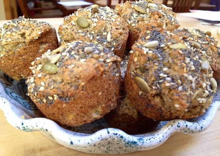 Photo Credit http://www.shesugar.com/celiac-disease/gluten-free-seeded-banana-date-muffins-healthy/